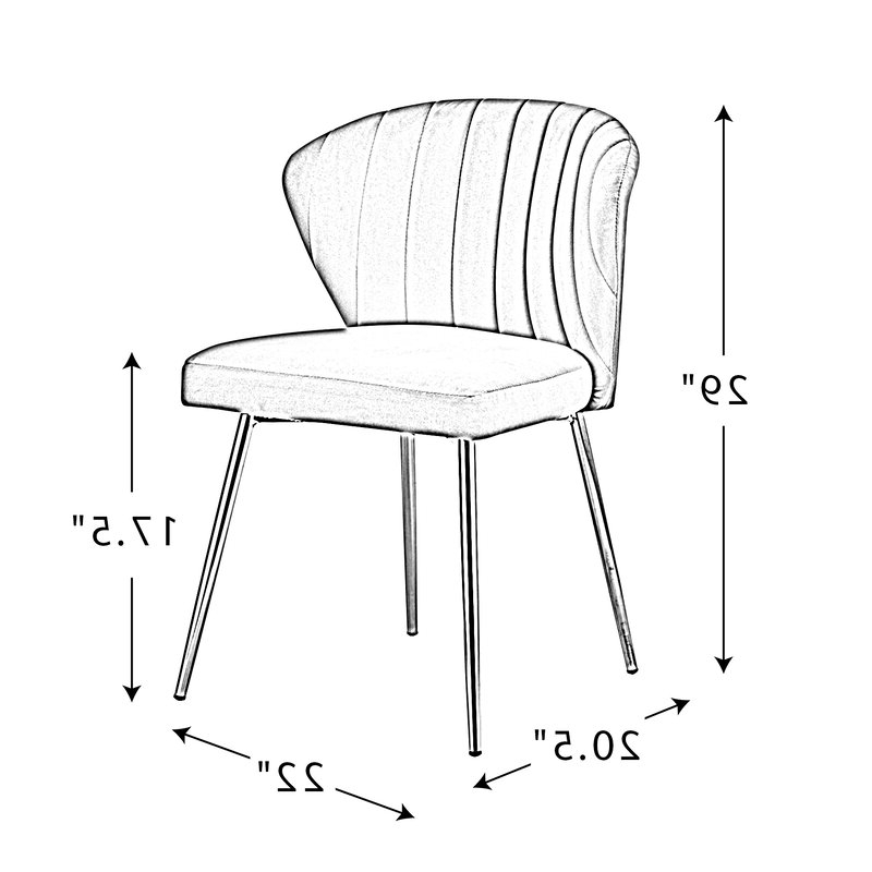 Esmund Side Chair For Esmund Side Chairs (set Of 2) (View 13 of 20)