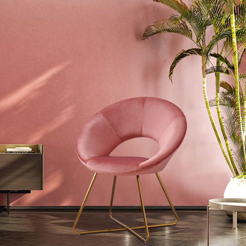 """Everly Quinn Grinnell Silky Velvet 15"""" Papasan Chair With Grinnell Silky Velvet Papasan Chairs (View 12 of 20)"""