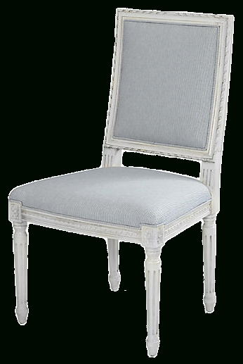 Exeter Side Chair, Bluebell/stripe Regarding Exeter Side Chairs (View 2 of 20)