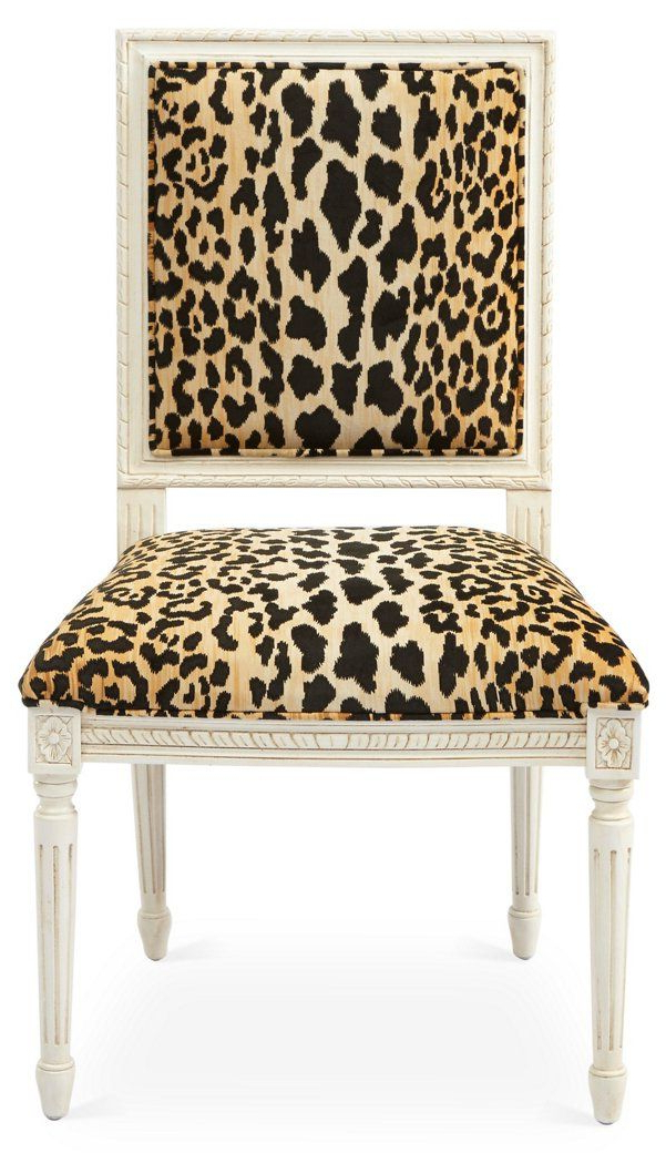 Exeter Side Chair, Leopard – New Markdowns – Must See With Regard To Exeter Side Chairs (View 20 of 20)