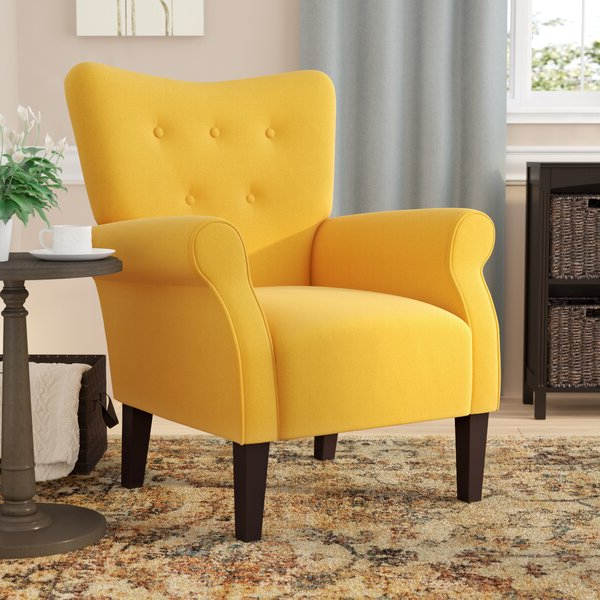 Extra Firm Accent Chair Regarding Nadene Armchairs (View 9 of 20)