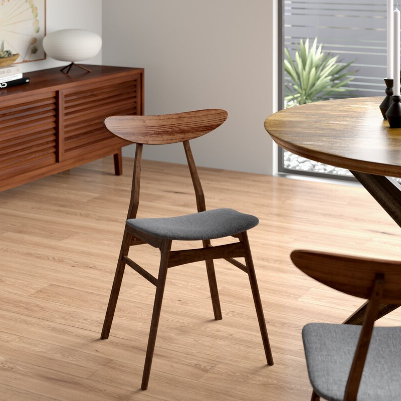 Filton Solid Wood Dining Chair Pertaining To Filton Barrel Chairs (View 9 of 20)