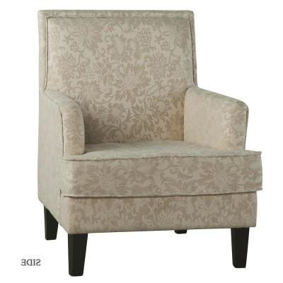 Floral – Arm Chair – Accent Chairs – Chairs – The Home Depot Pertaining To Filton Barrel Chairs (View 8 of 20)