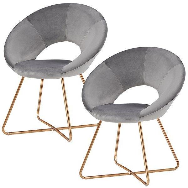 "Focht 20"" W Velvet Armchair | Furniture, Accent Chair Set Throughout Focht Armchairs (View 8 of 20)"