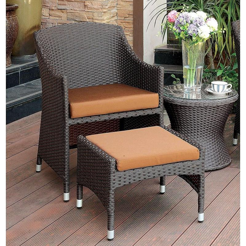 Furniture Of America Outdoor Seating Almada Cm Ot2550 Ac Intended For Almada Armchairs (View 11 of 20)