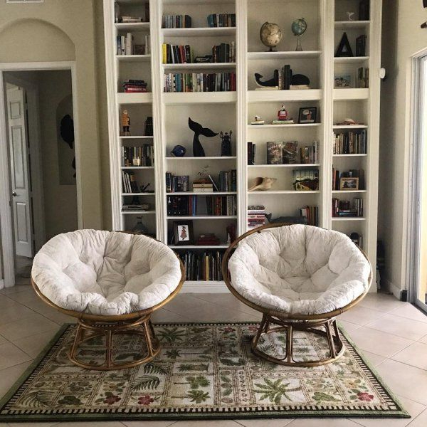 Fuzzy Papasan Cushion | Papasan Cushion, Papasan Chair Frame With Renay Papasan Chairs (View 6 of 20)