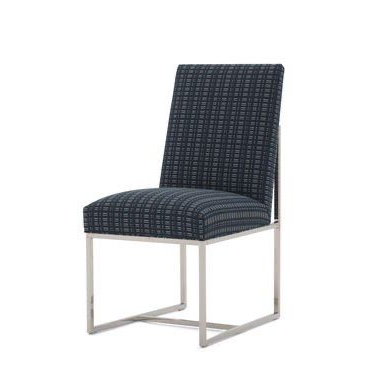 Gage Low Dining Chair In 2020 | Side Chairs Dining Pertaining To Bob Stripe Upholstered Dining Chairs (set Of 2) (View 16 of 20)