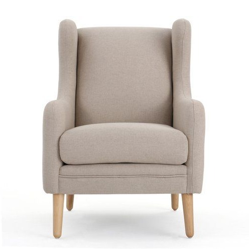 Gallaway Wingback Chair In Aalivia Slipper Chairs (View 6 of 20)