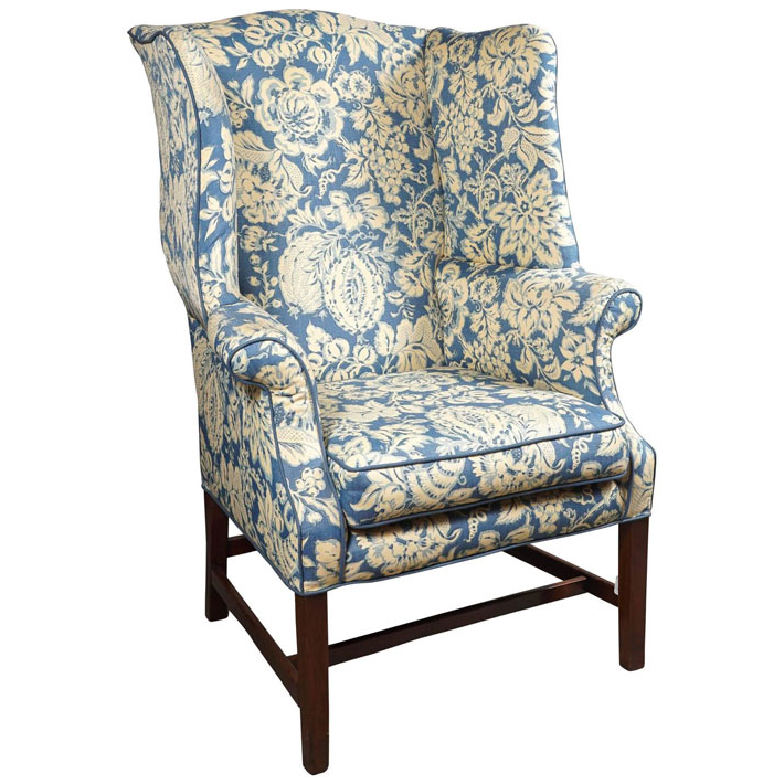 George Iii Wingback Chair With Busti Wingback Chairs (View 14 of 20)