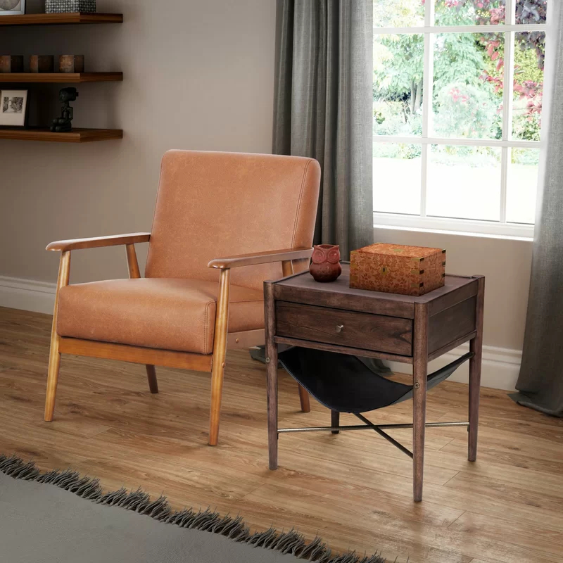 """George Oliver Barlow 21"""" Armchair & Reviews 