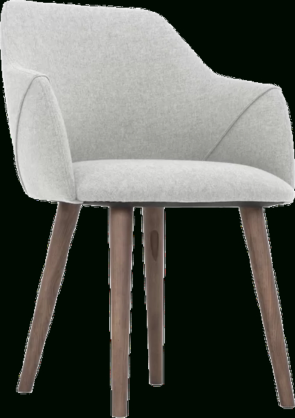 Gerald Upholstered Dining Chair | Sunday Light Grey, (set Of 2) Pertaining To Carlton Wood Leg Upholstered Dining Chairs (View 11 of 20)