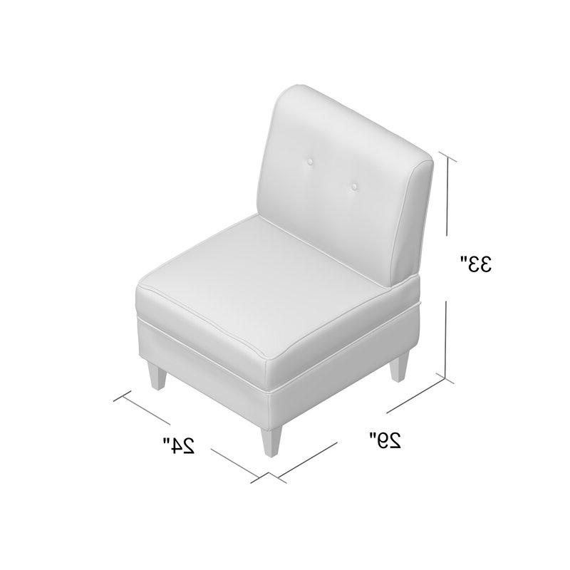Gozzoli Slipper Chair Pertaining To Gozzoli Slipper Chairs (View 6 of 20)