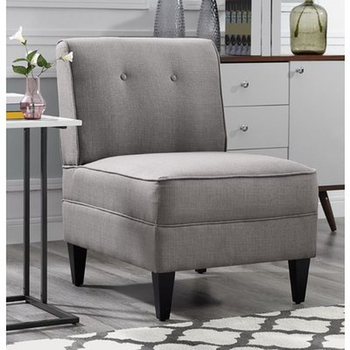 Gozzoli Tufted Slipper Chair – Wayfair Throughout Gozzoli Slipper Chairs (View 2 of 20)