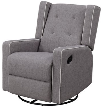 Graceville Shelter Manual Swivel Recliner With Zalina Swivel Armchairs (View 19 of 20)