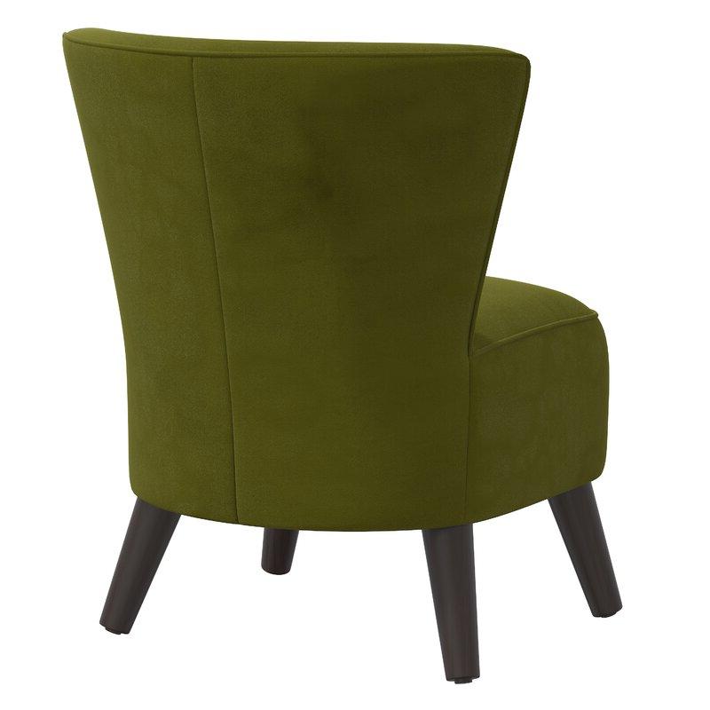 Griner Slipper Chair Throughout Easterling Velvet Slipper Chairs (View 8 of 20)