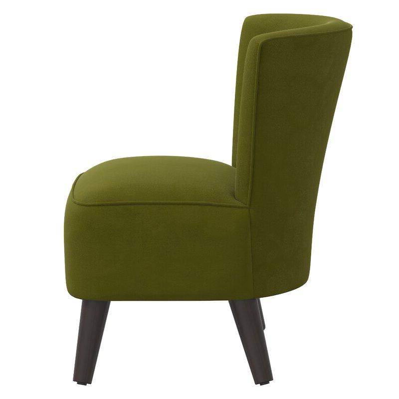 Griner Slipper Chair Throughout Easterling Velvet Slipper Chairs (View 5 of 20)