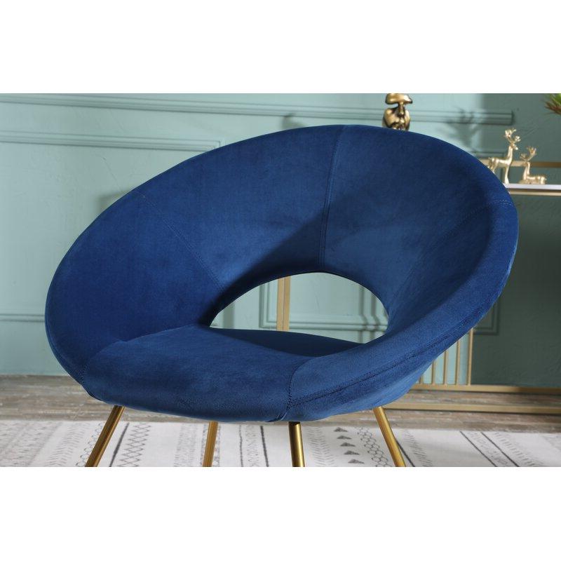 "Grinnell Silky Velvet 15"" Papasan Chair In Grinnell Silky Velvet Papasan Chairs (View 10 of 20)"