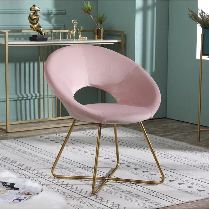 "Grinnell Silky Velvet 15"" Papasan Chair Pertaining To Grinnell Silky Velvet Papasan Chairs (View 2 of 20)"