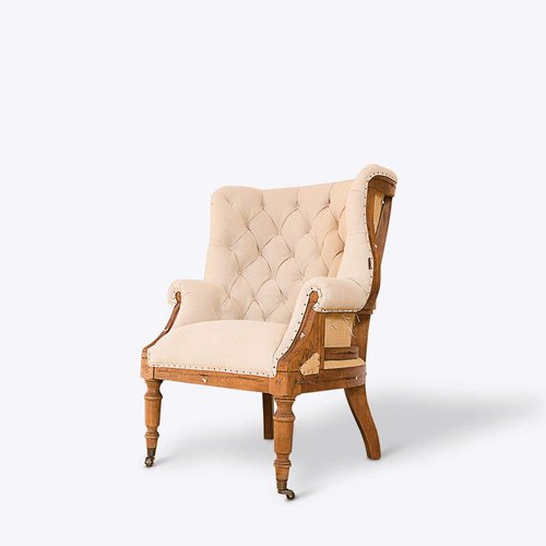 Hampton Deconstructed Wingback Armchair Regarding Busti Wingback Chairs (View 12 of 20)