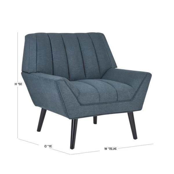 Handy Living Houston Caribbean Blue Plush Low Pile Velour Throughout Live It Cozy Armchairs (View 20 of 20)