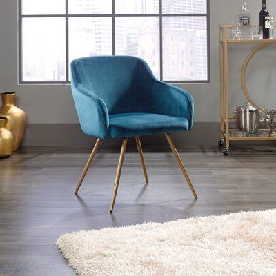 Hanner Armchair Upholstery Color: Blue In 2020 | Blue With Hanner Polyester Armchairs (View 13 of 20)