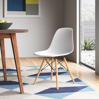 Harland Polyurethane Task Chair & Reviews   Allmodern Intended For Harland Modern Armless Slipper Chairs (View 12 of 20)