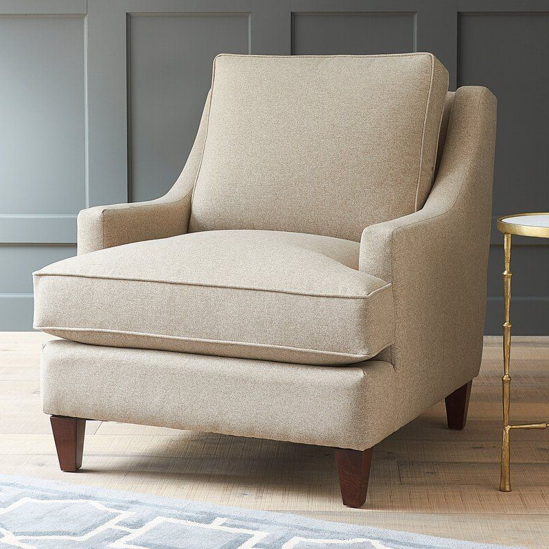 Hathaway Armchair In 2020 | Hathaway Armchair, Armchair Intended For Alexander Cotton Blend Armchairs And Ottoman (View 17 of 20)
