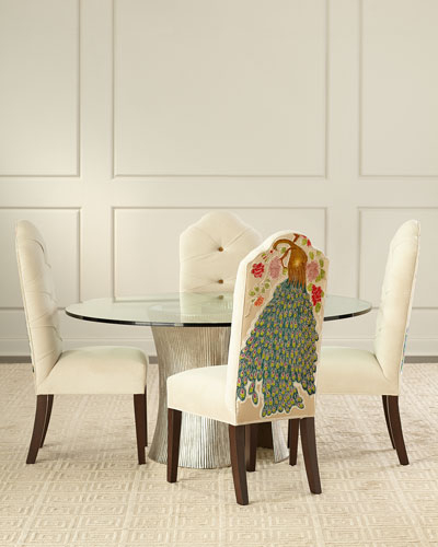 Haute House Furniture & Dècor At Horchow Regarding Aime Upholstered Parsons Chairs In Beige (View 19 of 20)
