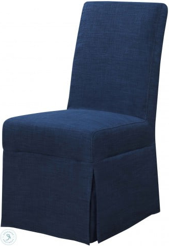 Hayden Blue Parsons Dining Chair Set Of 2 With Harland Modern Armless Slipper Chairs (View 19 of 20)