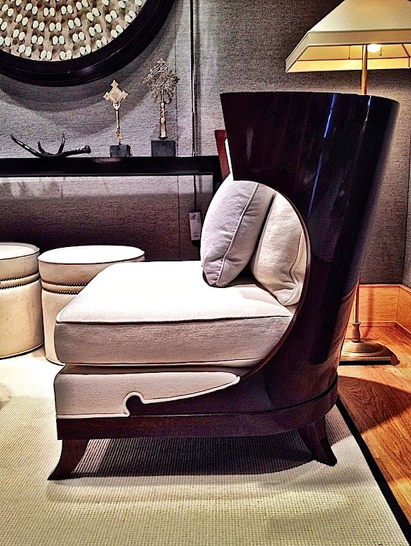 High Point Picks   Jacques Garcia Collection For Baker With Regard To Hiltz Armchairs (View 12 of 20)