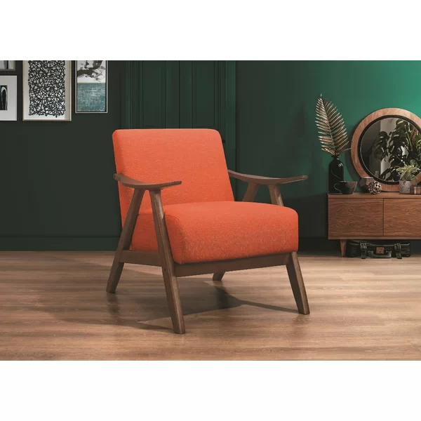 Hofstetter Armchair | Fabric Accent Chair, Orange Accent Pertaining To Hofstetter Armchairs (View 5 of 20)