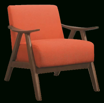 Hofstetter Armchair | Orange Intended For Hofstetter Armchairs (View 7 of 20)