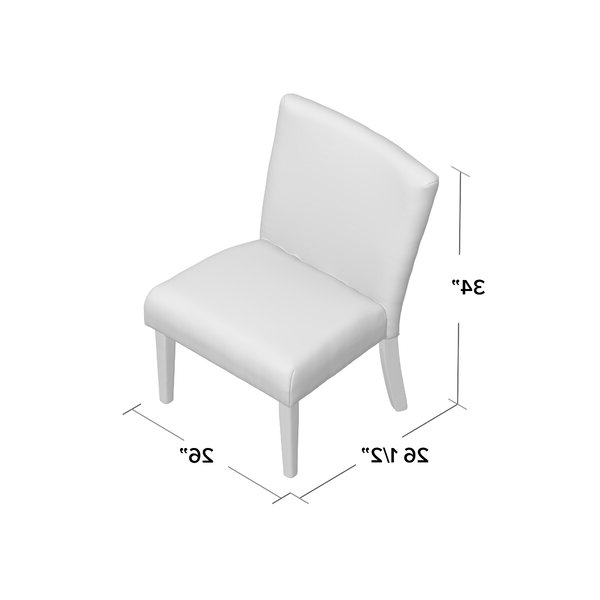 Isiah Slipper Chair Regarding Daleyza Slipper Chairs (View 11 of 20)