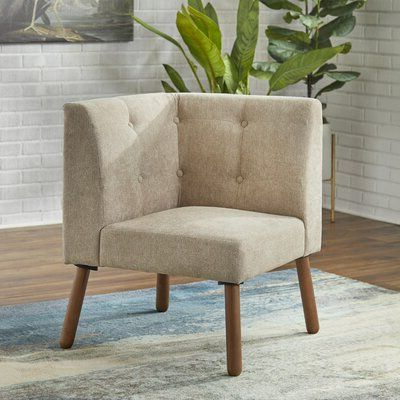 Ivy Bronx Bucci Slipper Chair | Wayfair In 2020 | Corner Intended For Bucci Slipper Chairs (View 4 of 20)