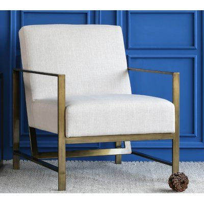 Ivy Bronx Haakenson Armchair Upholstery: | Armchair With Regard To Lakeville Armchairs (View 8 of 20)