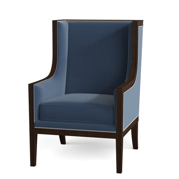 Jameson Wingback Chair Throughout Waterton Wingback Chairs (View 14 of 20)