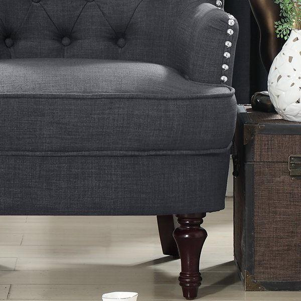 Jayde Armchair   Armchair, Linen Upholstery, Chair Inside Jayde Armchairs (View 8 of 20)