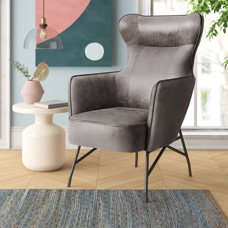 Featured Photo of Jill Faux Leather Armchairs
