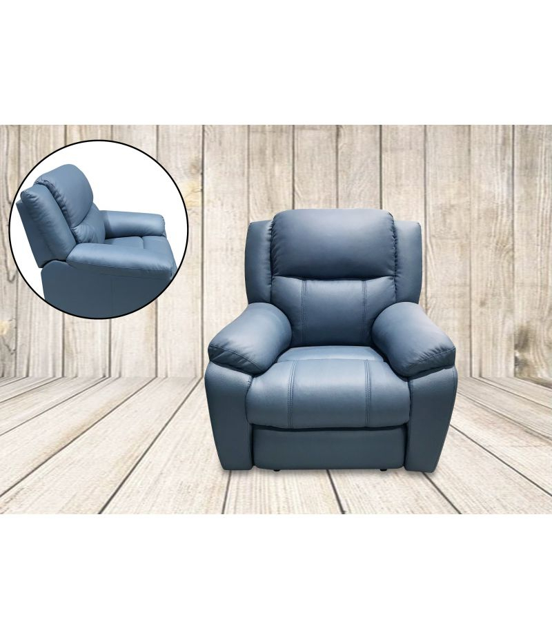 Jill Leather Recliner Lounge Suite Set (3 Seater +2 Seater + Pertaining To Jill Faux Leather Armchairs (View 8 of 20)