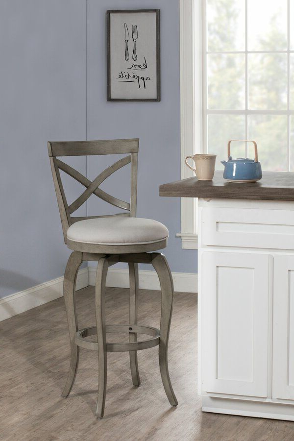 Juelz Bar & Counter Swivel Stool | Bar Stools, Bar Height For Goodyear Slipper Chairs (View 12 of 20)