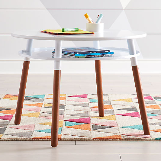 Kids' Tables And Chairs For Play   Crate And Barrel In 2020 With Ansby Barrel Chairs (View 18 of 20)