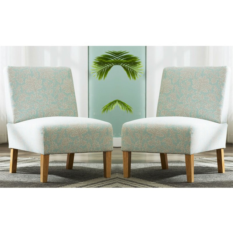 "Kiska 21"" Slipper Chair Within Goodspeed Slipper Chairs (set Of 2) (View 7 of 20)"