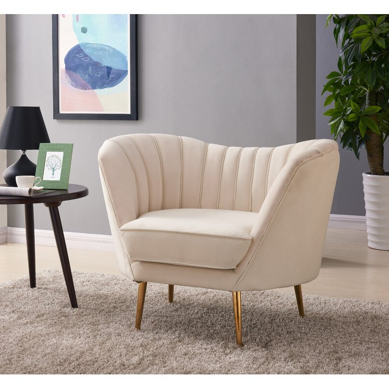 Koger Barrel Chair Within Cohutta Armchairs (View 16 of 20)