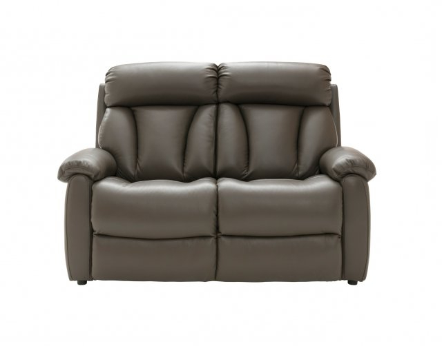 La Z Boy Georgina 2 Seater Leather Sofa In Georgina Armchairs (set Of 2) (View 7 of 20)