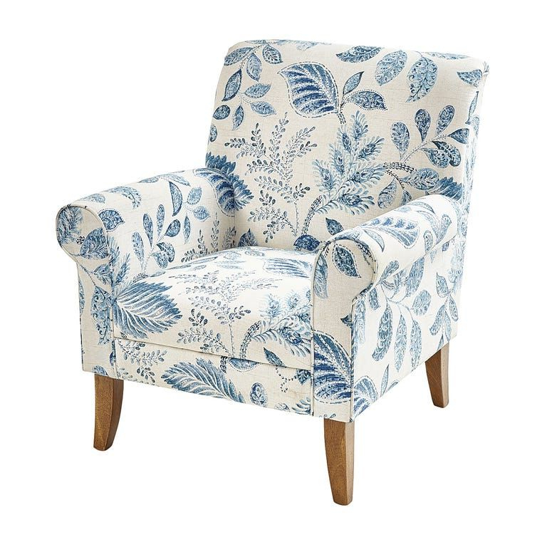 Laila Artemis Armchair   Pier 1   Armchair, Blue Armchair Within Artemi Barrel Chair And Ottoman Sets (View 19 of 20)