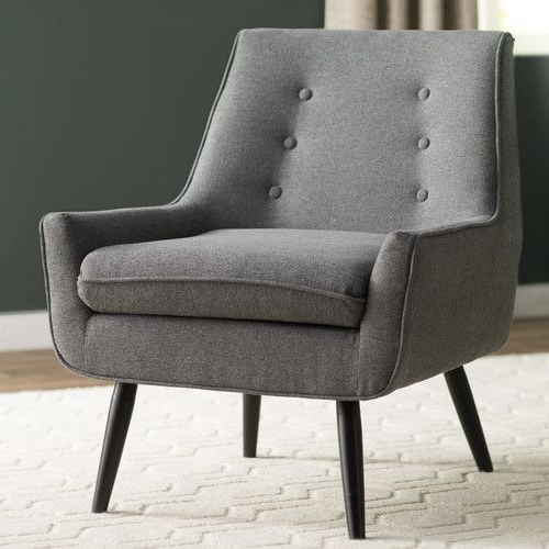 Langley Street™ Eytel Arm Chair | Armchair, Tufted Arm For Hanner Polyester Armchairs (View 20 of 20)