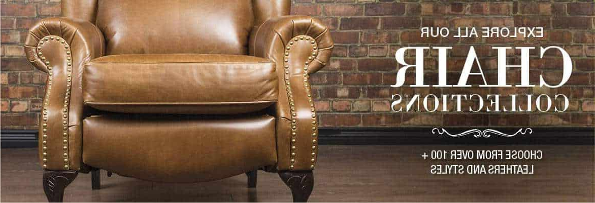 Leather Chairs | Canada's Boss Leather Sofas And Furniture For Sheldon Tufted Top Grain Leather Club Chairs (View 16 of 20)