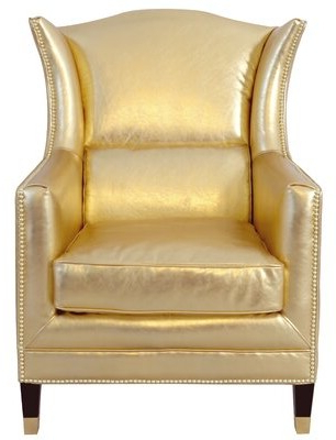 Leather Wingback Chair | Shop The World's Largest Collection Intended For Marisa Faux Leather Wingback Chairs (View 18 of 20)