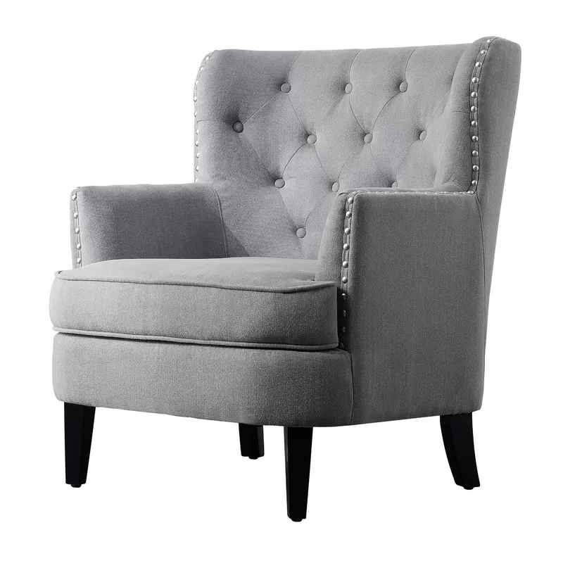 Lenaghan Wingback Chair In 2020 | Wingback Chair, Chair Pertaining To Lenaghan Wingback Chairs (View 7 of 20)