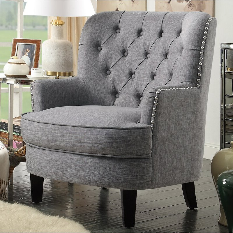 Lenaghan Wingback Chair Throughout Lenaghan Wingback Chairs (View 3 of 20)